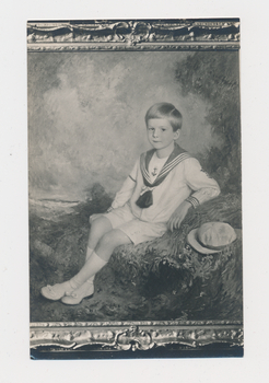Ruth Burgess photograph thought to be portrait of Jewett Burgess