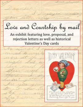Love and Courtship by Mail online exhibit graphic