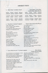 Amherst Ballet Theater Company program, page 9