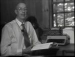 Robert Francis reads his poem, Bulldozer