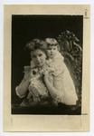 Harriet Stenger Jones and young Minot