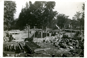 jones library collection_1927_construction 9 10 1927.jpg