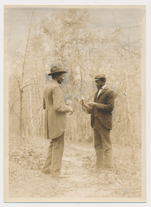 George Washington Carver with student