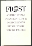 Frost: A Time to Talk book cover
