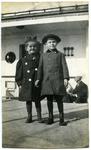 Samuel Minot Jones and Augusta Thayer Jones as children