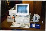 Internet station at Jones Library
