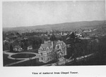 View of Amherst from Johnson Chapel tower
