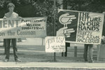 Peace vigil on Amherst Common