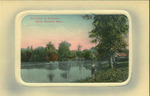 Mill Pond at Cushman, North Amherst, Mass.
